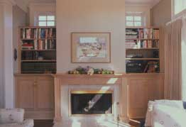 Magnolia Residence Fireplace